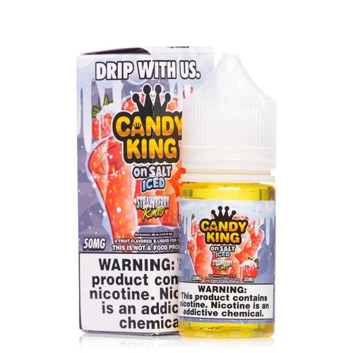 Candy King On Salt Iced Strawberry Rolls Ejuice-UVD