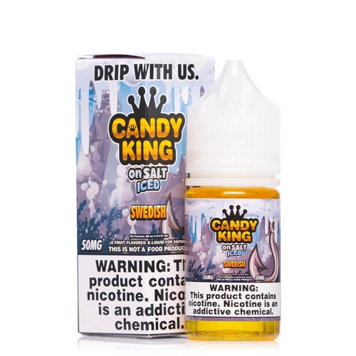 Candy King On Salt Iced Swedish Ejuice-UVD