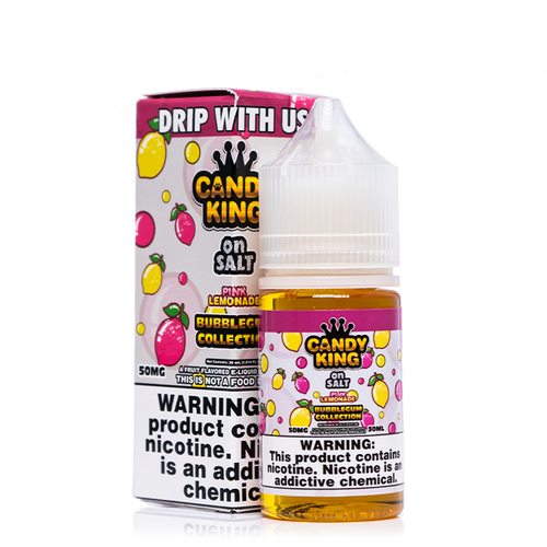 Candy King On Salt Pink Lemonade Bubblegum ($12.99) | UVD