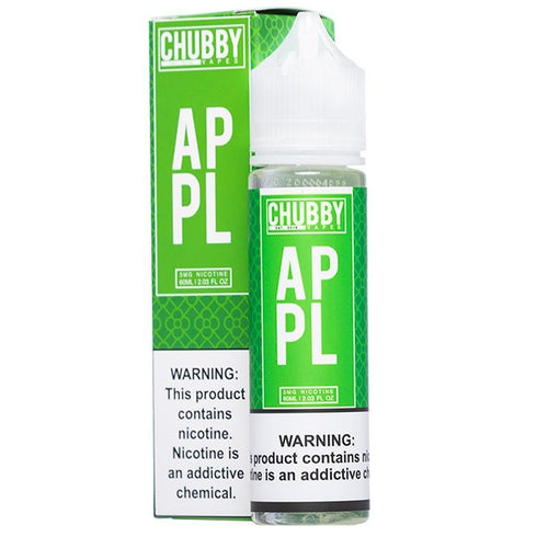 Chubby Bubble Vapes Bubble Apple Eliquid - UltimateVapeDeals.com