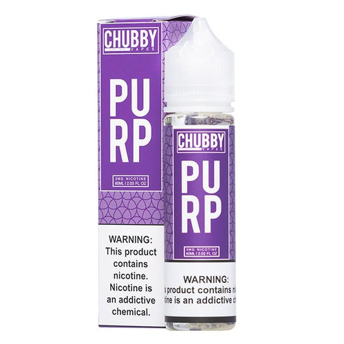 Chubby Bubble Vapes Bubble Purp Eliquid - UltimateVapeDeals.com