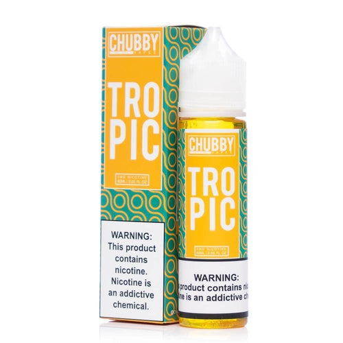 Chubby Bubble Vapes Bubble Tropic Eliquid-UVD