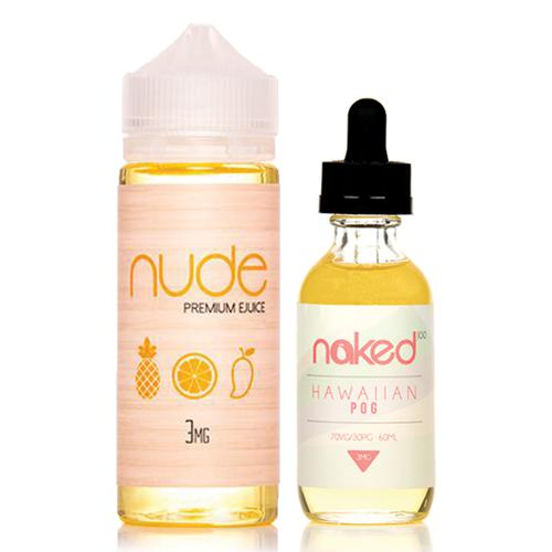 Nude POM and Naked POG 2 Pack Ejuice Bundle-UVD