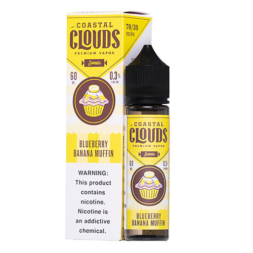 Coastal Clouds Sweets Blueberry Banana Muffin Ejuice - UltimateVapeDeals.com