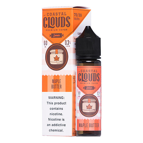 Coastal Clouds Sweets Maple Butter Ejuice-UVD