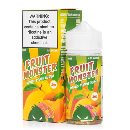 Fruit Monster Mango Peach Guava Ejuice-UVD