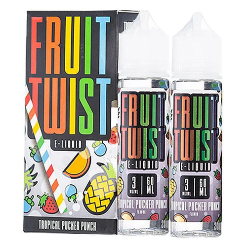 Fruit Twist Eliquids Tropical Pucker Punch Ejuice-UVD