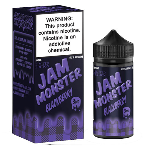 Jam Monster Blackberry Jam Ejuice-UVD