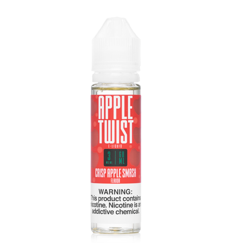 Apple Twist Crisp Apple Smash 60ml Ejuice - UltimateVapeDeals.com