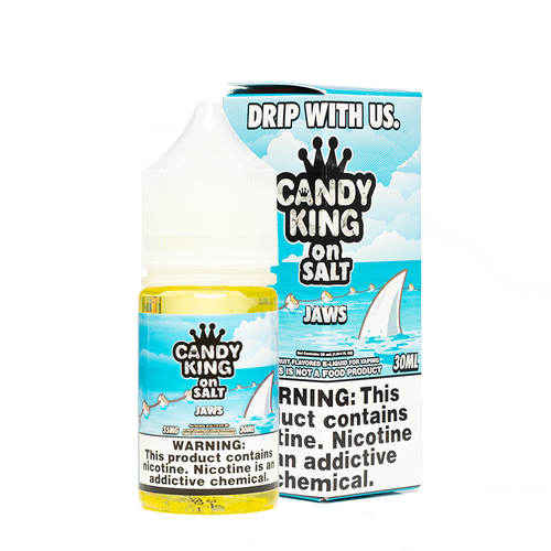 Candy King on Salt Jaws Ejuice | UVD