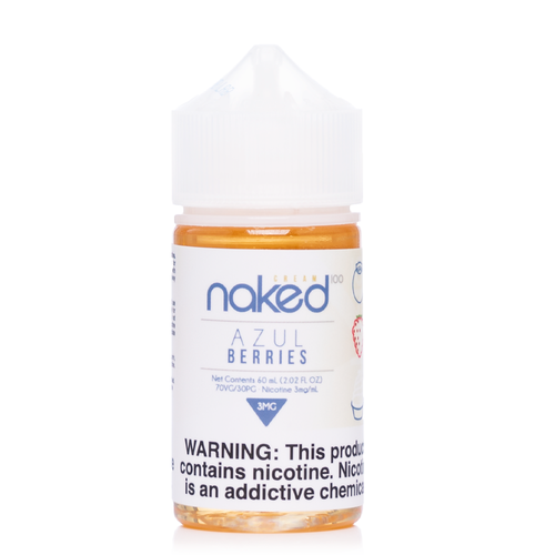 Naked 100 Azul Berries Ejuice-UVD