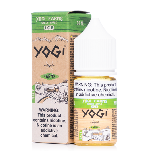 Yogi Farms Salt Green Apple Ice Ejuice-UVD