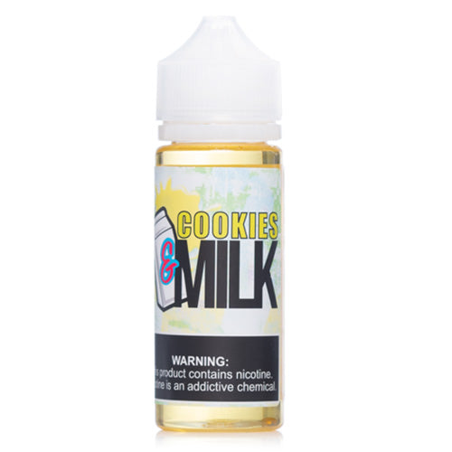 &Milk Cookies Eliquid - UltimateVapeDeals.com