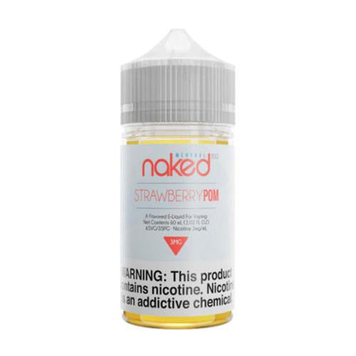 Naked 100 Menthol Strawberry POM Ejuice