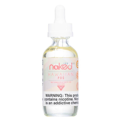 Naked 100 Ice Hawaiian POG Ejuice-UVD