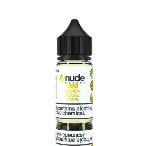 Nude Bakery Salts Lemon Cake Pops Ejuice