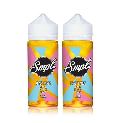 SMPL Ejuice Krazy Kandy 2 Pack Ejuice Bundle-UVD