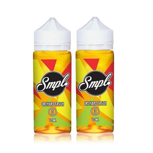 SMPL Ejuice Orchard Fresh 2 Pack Ejuice Bundle-UVD