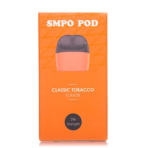 SMPO Classic Tobacco Replacement Pods 2 Pack - UltimateVapeDeals.com