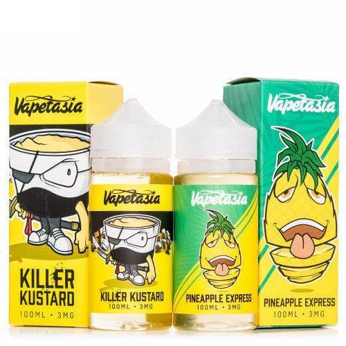 Vapetasia E-Liquid 2 Pack Ejuice Bundle-UVD