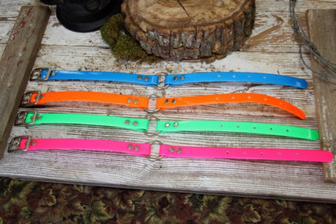 16 inch by 3/4 inch Dayglo Price includes name plate