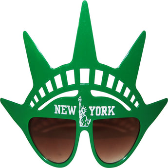 Green Ny atatue of liberty sunglass