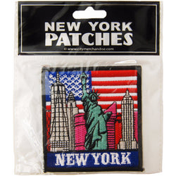 New York Embroidery Patch