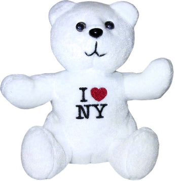 I Love New York Teddy Bear in Every Color in the Rainbow