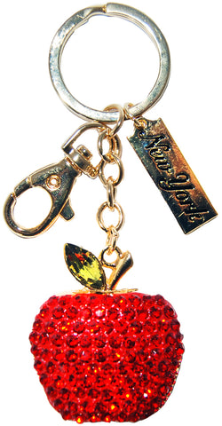 Big apple keychain