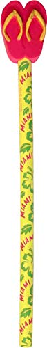 Sandal Cute Topper Pencil Featuring Design of Miami