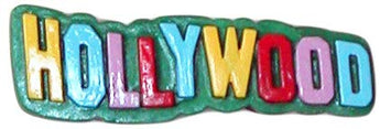 Hollywood, California Sign Souvenir Refrigerator Magnet