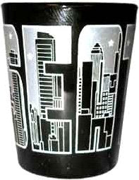 American Cities and States of Cool Shot Glass's (Seattle)