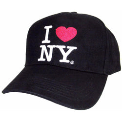 Black I Love New York hat