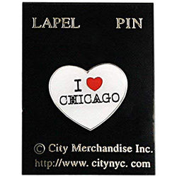 CityDreamShop Souvenir Lapel Pin for Various Occasion (Chicago)
