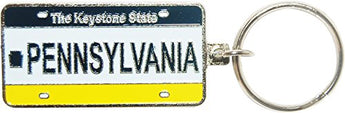 American Cities and States Metal Quality Keychains (Pennsylvania)