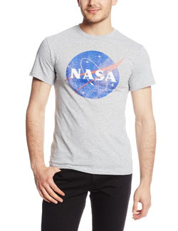 Fifth Sun Nasa Logo, Athletic Heather, Large