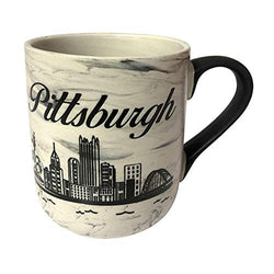 American Cities and States of 11 oz Coffee Mugs (Pittsburgh2)