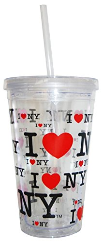 I Love New York Tumbler Coffee Travel Mug