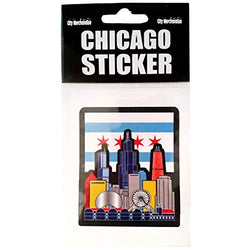 CityDreamShop Sticker for Car Bumper Travel Luggage Laptop iPad (Chicago)