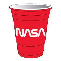 American Cities and States of Cool Shot Glass's (NASA Red)