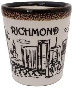American Cities and States of Cool Shot Glass's (Richmond)