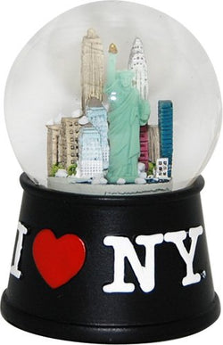City Merchandise I Love New York Skyline Snow Globe