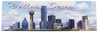 Dallas Texas Skyline Refrigerator Picture Magnet