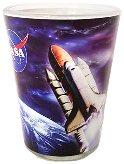 NASA Outer Space Space Ship Designed Unique Shot Glass