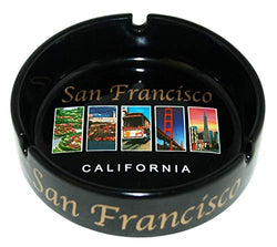 CityDreamShop San Francisco Landmark Picture Designed Souvenir Ashtray