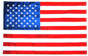 USA Company American Flag Embroidered Ultra 3x5 Feet Patriotic Flag
