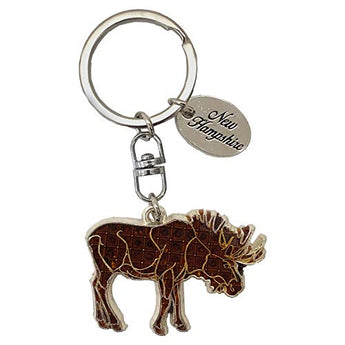 Selection of Animal Keychains (Moose)