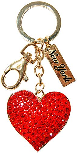 Dangle Keychains Perfect Souvenir Gift Collection (Heart of Love)