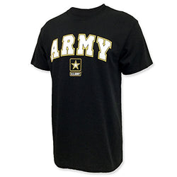 US Army Arch T-Shirt, x-Large, Black