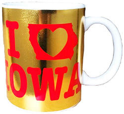 I Heart Iowa State 11 ounce Coffee mug
